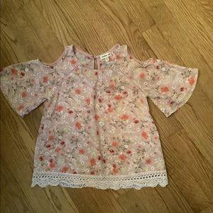 Flower blouse girls